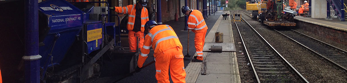 Huyton Asphalt at Altrincham Station